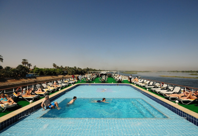 MS Royal Ruby Nile Cruise, from Luxor or Aswan (Mon-Fri, Fri-Mon), Luxor, Rooftop Pool