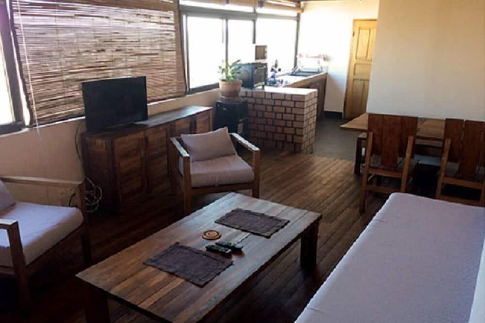 Departamento superior, 1 habitación (Ambondrona) - Sala de estar