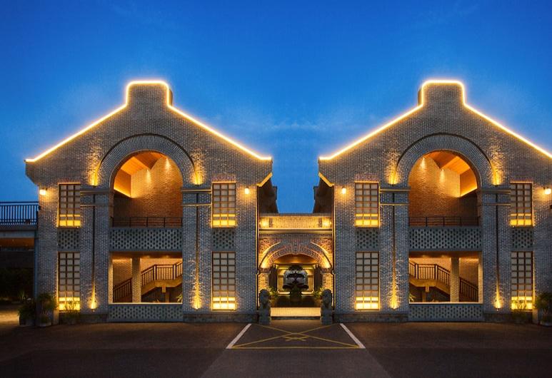 Lin Yin Art Hotel Shanghai (Pudong Airport), Xangai, Fachada do Hotel - Tarde/Noite