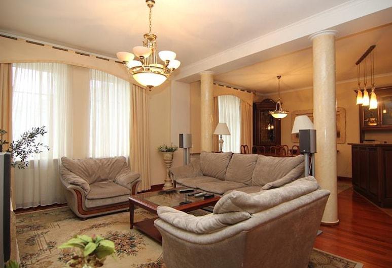 Lakshmi Apartment Red Square, Moskwa, Apartament, 2 sypialnie, Salon