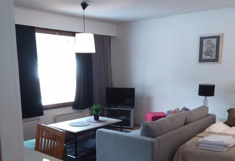 أبارتمنتس فوتسو, سودانكيلا, شقة - غرفتا نوم - ساونا (# A2), منطقة المعيشة
