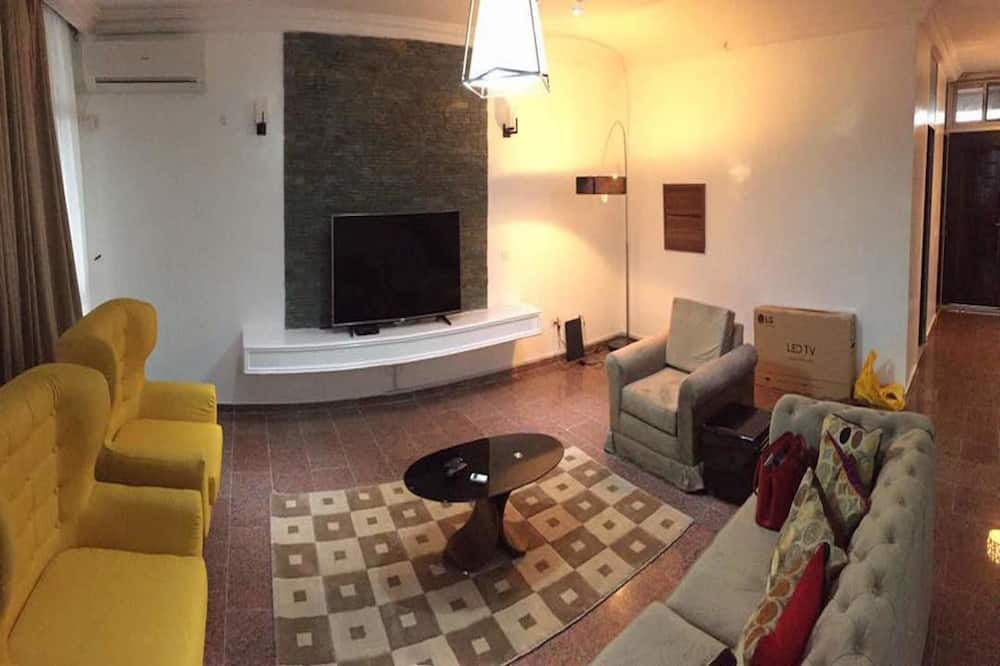 Premium-Apartment, 3Schlafzimmer, Nichtraucher - Wohnbereich