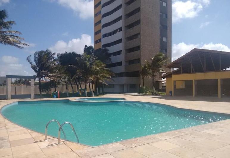 Apartamento Vista Mar 1401, Fortaleza, Hồ bơi ngoài trời