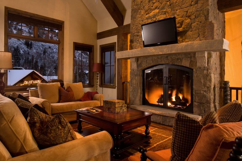 Rumah Elite, 4 kamar tidur, perapian, pemandangan gunung - Area Keluarga