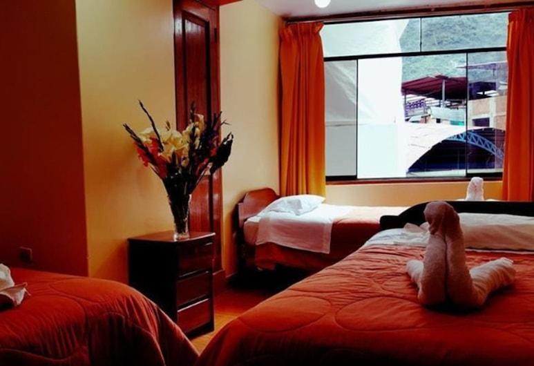 Hostal Urpi, מאצ'ו פיצ'ו, חדר לשלושה, 3 מיטות יחיד, חדר אורחים