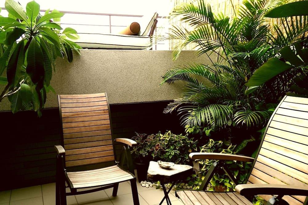 Kamar Double Khas, balkon, pemandangan sungai - Balkon