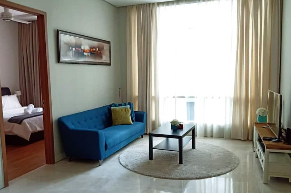 Apartment, 2Schlafzimmer (#3) - Wohnzimmer