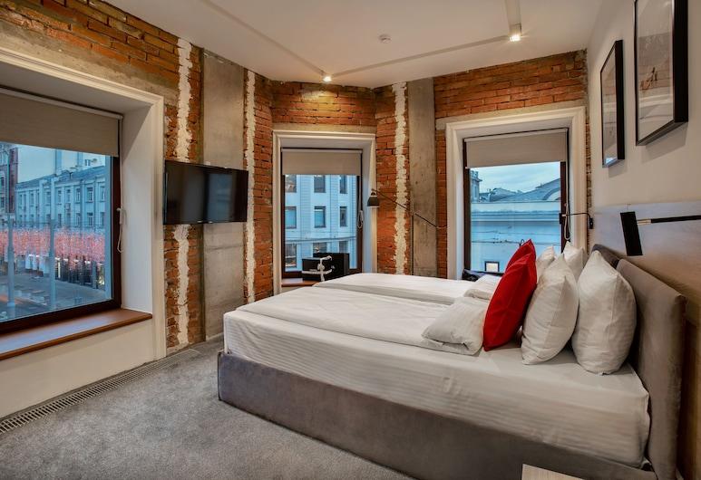La Maison Residence, Moskau, Deluxe-Doppelzimmer, Zimmer