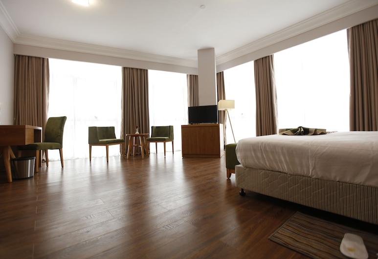 Sabon Hotel, Addis Ababa, Deluxe Double Room, 1 Katil Raja (King), Bilik Tamu