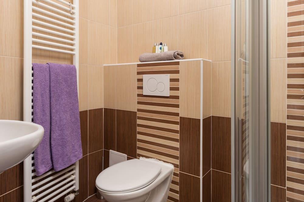 Family Apartment, 2 Bedrooms, City View - Bilik mandi