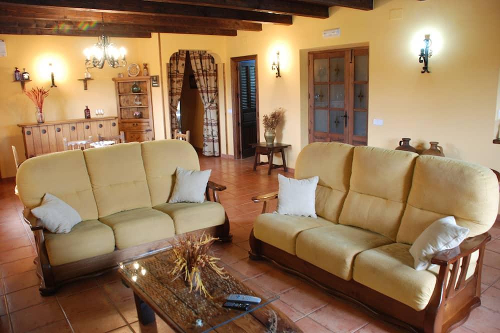 Ferienhaus, 3Schlafzimmer - Wohnzimmer