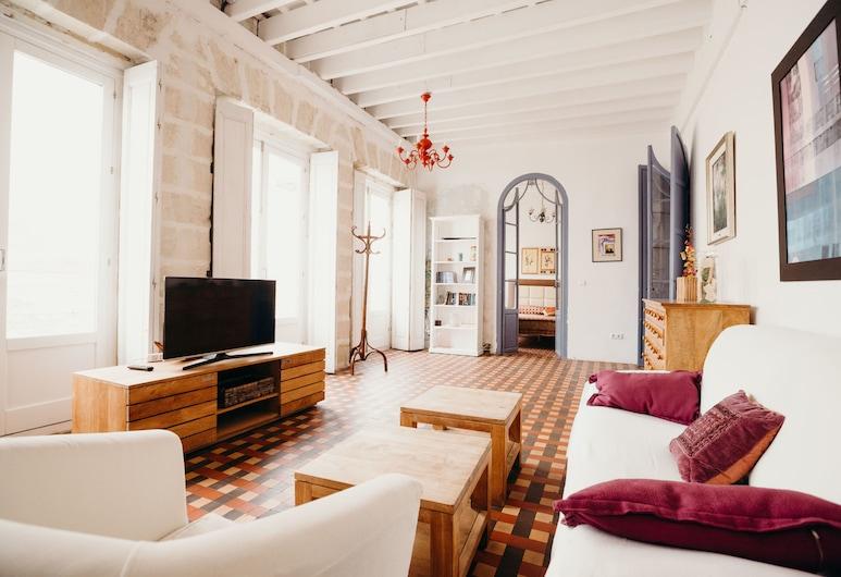 Apartamento El Balcón de Cádiz, Cadiz, Apartament typu Superior, 3 sypialnie, Salon