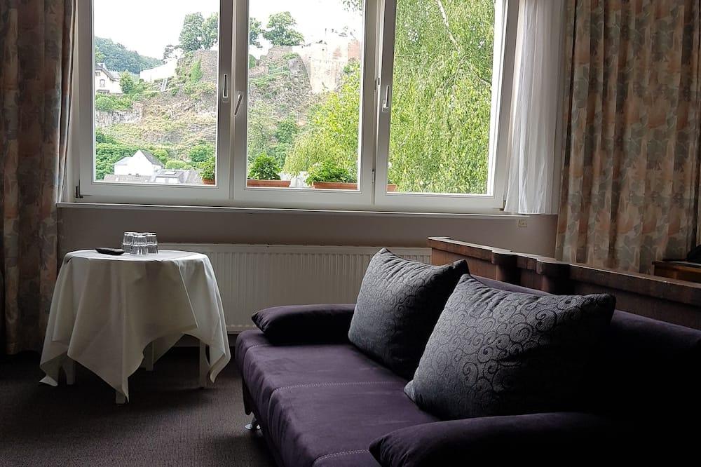 Pokój dla 3 osób, widok na rzekę - Powierzchnia mieszkalna
