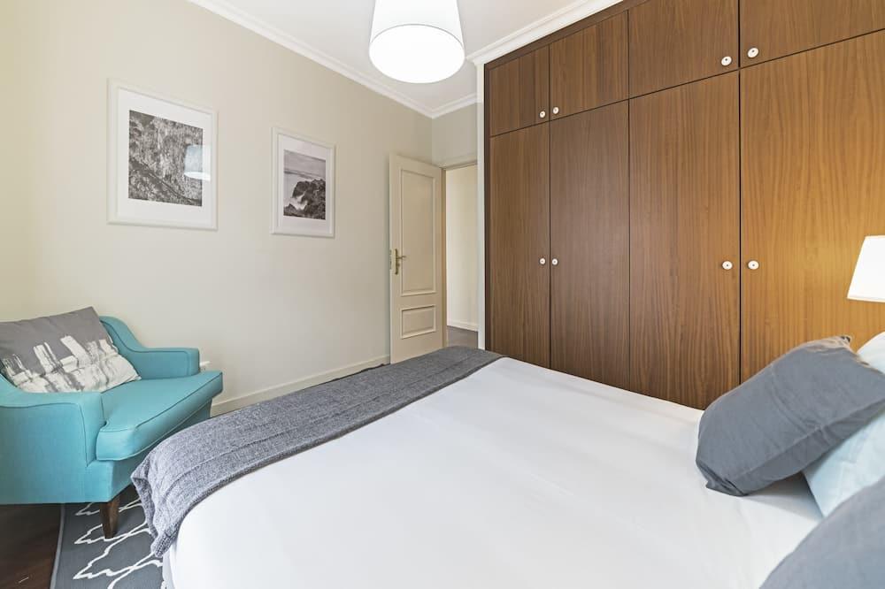 דירה, חדר שינה אחד, מרפסת, נוף לאוקינוס - חדר