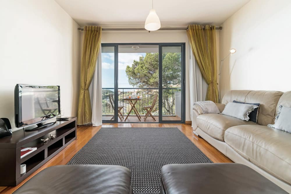 Apartamento, 2 Quartos, Varanda, Vista Oceano - Sala de Estar