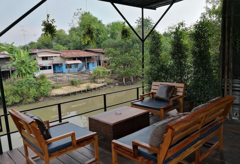 Baan Canalee, Ayutthaya, Terassi/patio