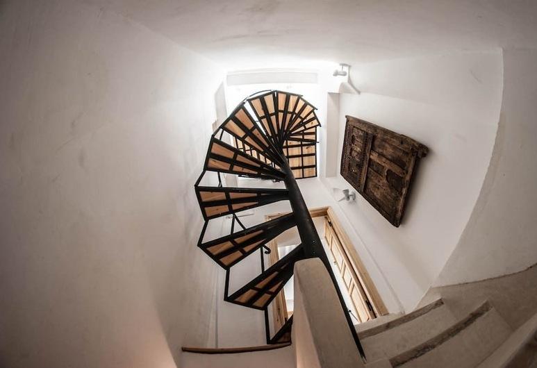 White Riad Apartment, Marrakech, Loft Design, Balkong