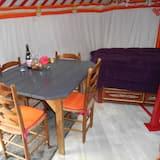 Baita familiare, 1 camera da letto, angolo cottura - Area soggiorno