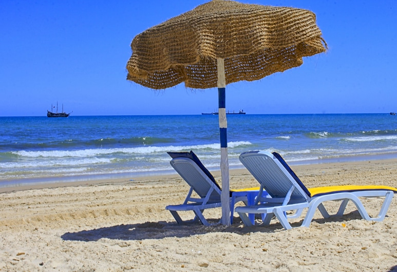 Sousse City And Beach Hotel, Sousse, Beach
