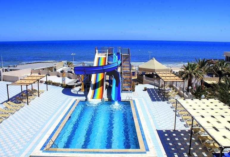 Sousse City And Beach Hotel, Sousse, Waterslide