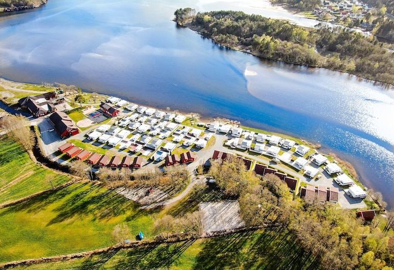 Solstrand Camping, Lindesnes, Praia