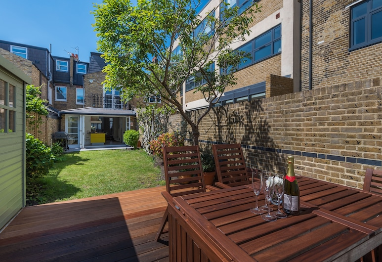 豪華北歐風格富勒姆之家泰唔士河旁酒店, 倫敦, 花園