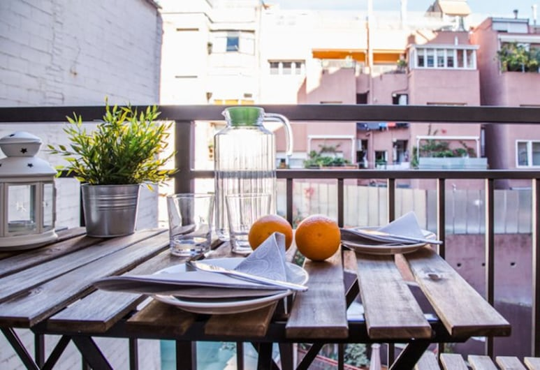 BarcelonaForRent Urban Town Suites, Barcelona, Štandardný apartmán, 2 spálne (III), Balkón