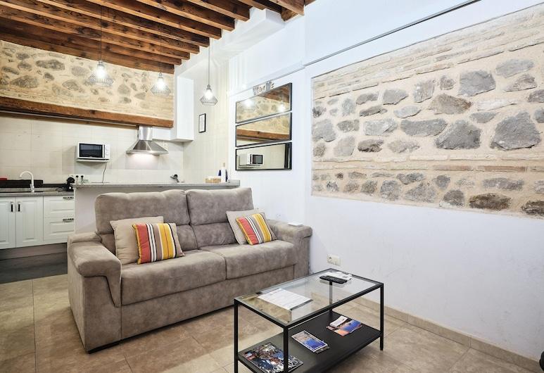 La Casa del Lirón by Toledo AP, Toledo, Appartement Exclusif, 2 chambres, cuisine, vue cour intérieure, Chambre
