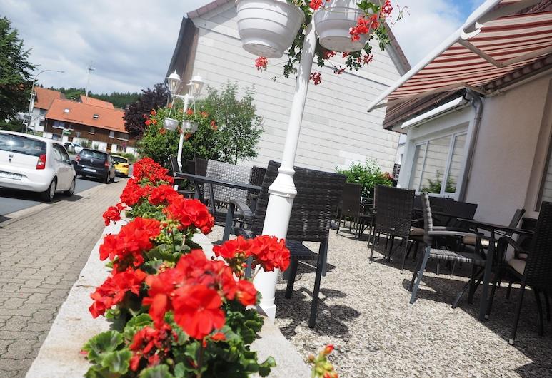 Pension Bothe, Langelsheim, Opciones de restauración (exterior)