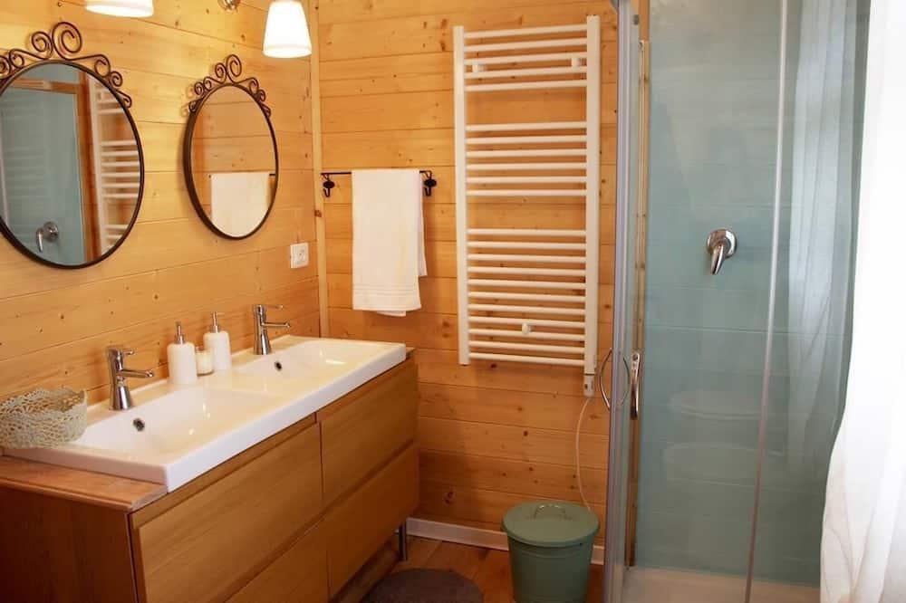 四人房, 共用浴室, 花園景觀 - 浴室