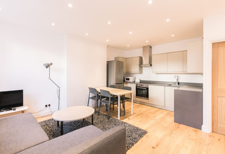 Eson 2 - The Westbourne Terrace Cocoon, London, Apartment, 1 Schlafzimmer, Wohnbereich