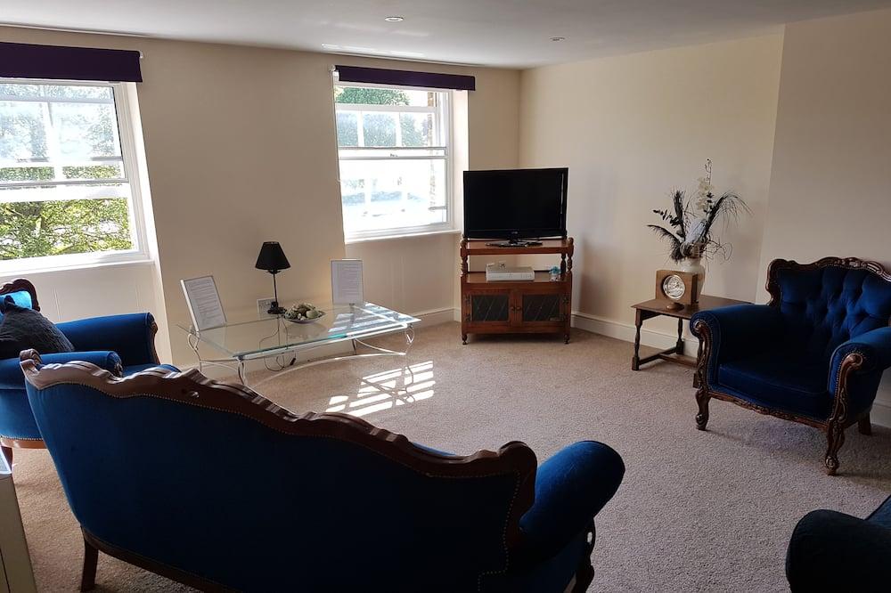 Deluxe Apartment, 2 Bedrooms, City View - Bilik Rehat