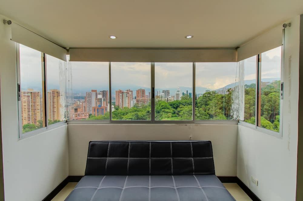 apartman, 1 kétszemélyes ágy és egy kihúzható kanapé - Nappali