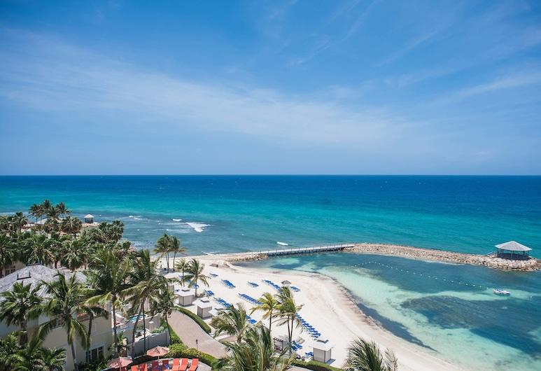 Palmyra Luxury Suites, Montego Bay, Appartamento Luxury, 2 camere da letto, vista spiaggia, di fronte alla spiaggia, Balcone