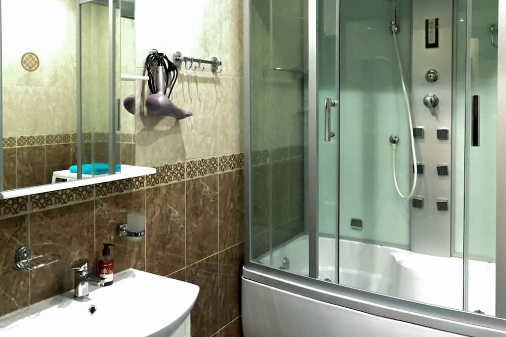 Comfort appartement, 1 slaapkamer - Badkamer