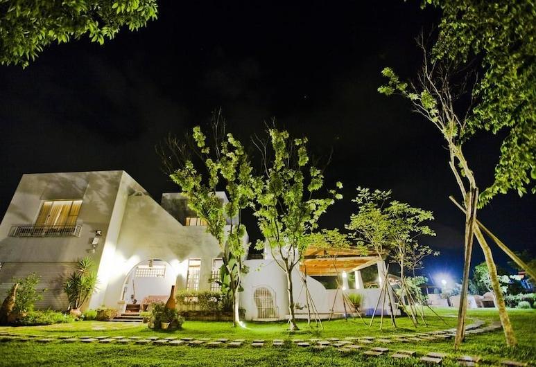 微笑 58 民宿, 埔里鎮, 飯店入口 - 夜景