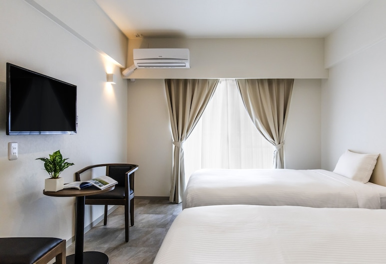 美榮橋金城先生酒店, 那霸, 基本公寓, 附屬樓 (Nica's Makishi station 1, Twin Room), 客房
