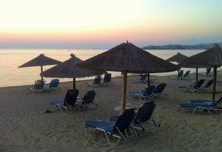 Alexanika Apartments, Sithonia, ชายหาด