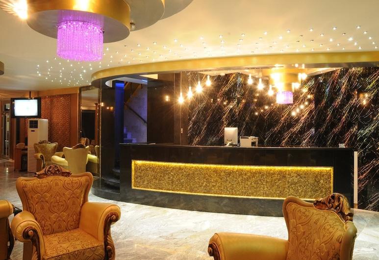 Akdeniz Hotel, Mersin, Sala de estar en el lobby
