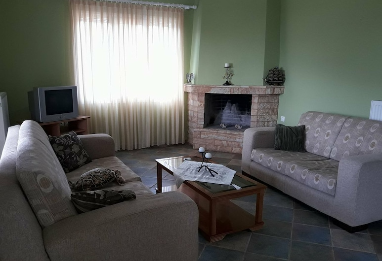 Joanna, Ermionida, דירה, 2 חדרי שינה, אזור מגורים