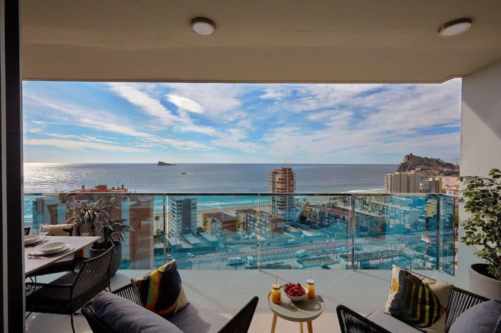 Lejlighed - 3 soveværelser - terrasse - havudsigt - Terrasse/patio