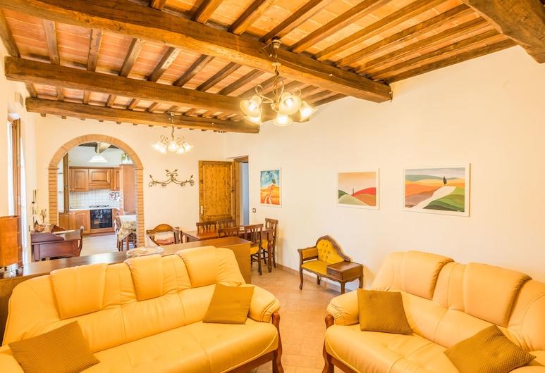 Agriturismo Cantagalli, San Quirico d'Orcia, Apartament typu Classic, 3 sypialnie, Salon