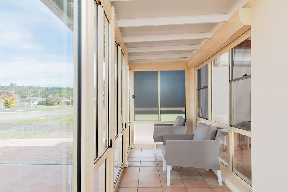 Deluxe Sıra Ev, 3 Yatak Odası, Mutfak, Plaj Kenarı - Teras/Veranda