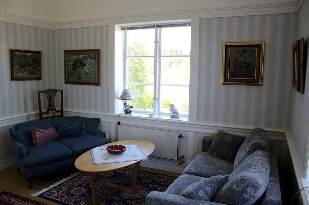 Suite exclusiva, 1 cama King size, vista al mar - Sala de estar