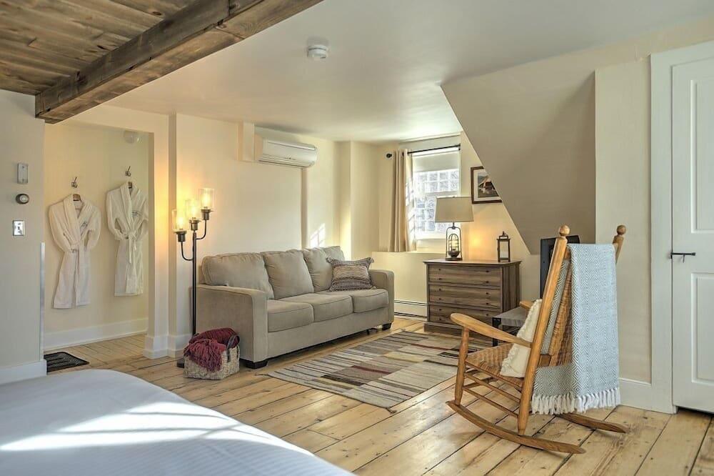 Camera doppia, 1 letto king - Area soggiorno