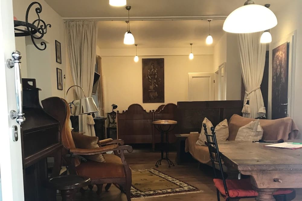 Exclusive-suite - byudsigt (incl. 79€ cleaning fee) - Opholdsområde
