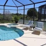 Villa, 5 soverom, privat basseng - Terrasse/veranda