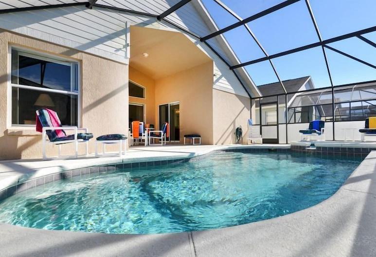 Indian Creek 8100 - Four Bedroom Villa with Private Pool, Kissimmee, Villa, 4 Yatak Odası, Kişiye Özel Havuzlu, Teras/Veranda