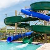 Resortwoning, 5 slaapkamers, privézwembad - Waterglijbaan