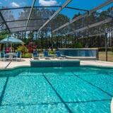 Vila, 5 spální, súkromný bazén, výhľad na golfové ihrisko - Terasa